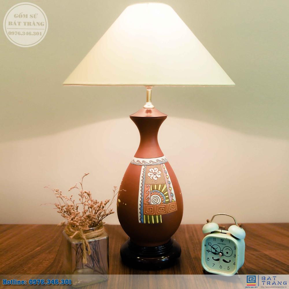 Tổng hợp 100+ mẫu đèn ngủ gốm sứ Bát Trang cao cấp 3