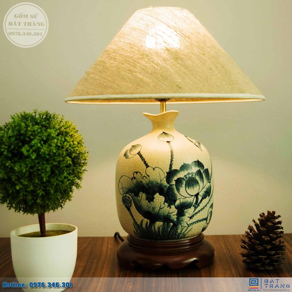 Tổng hợp 100+ mẫu đèn ngủ gốm sứ Bát Trang cao cấp 4