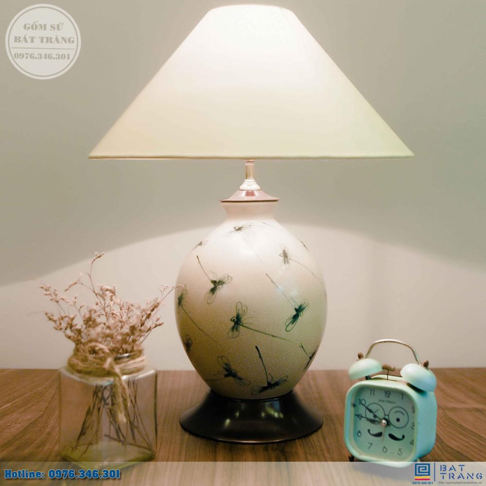 Tổng hợp 100+ mẫu đèn ngủ gốm sứ Bát Trang cao cấp 6