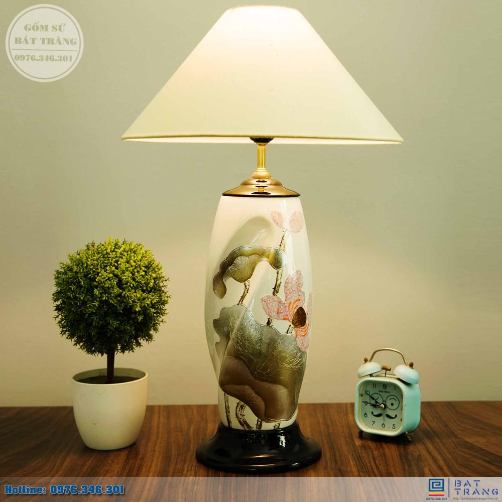 Tổng hợp 100+ mẫu đèn ngủ gốm sứ Bát Trang cao cấp 8