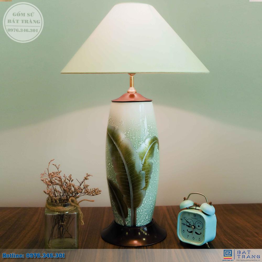 Tổng hợp 100+ mẫu đèn ngủ gốm sứ Bát Tràng cao cấp 10