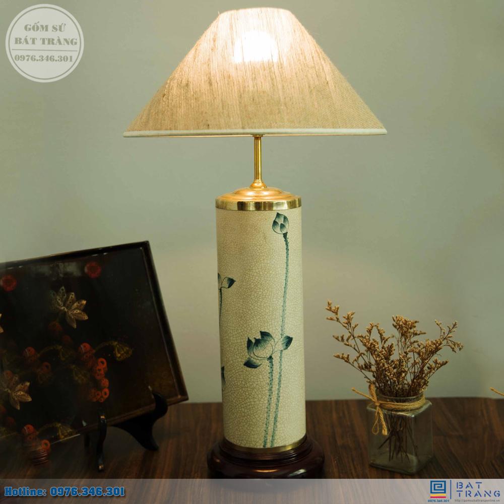 Tổng hợp 100+ mẫu đèn ngủ gốm sứ Bát Tràng cao cấp 11