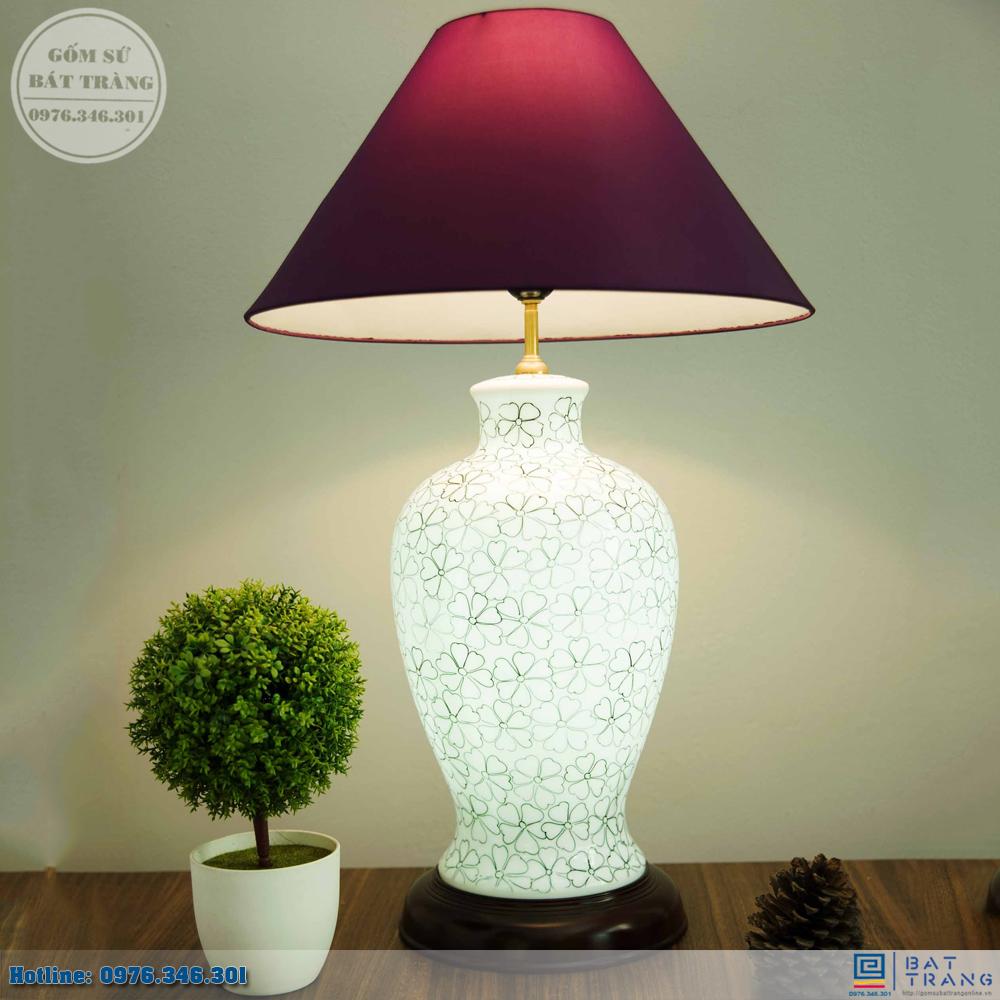 Tổng hợp 100+ mẫu đèn ngủ gốm sứ Bát Tràng cao cấp 14