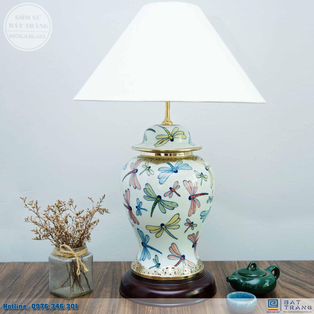 Tổng hợp 100+ mẫu đèn ngủ gốm sứ Bát Tràng cao cấp 15